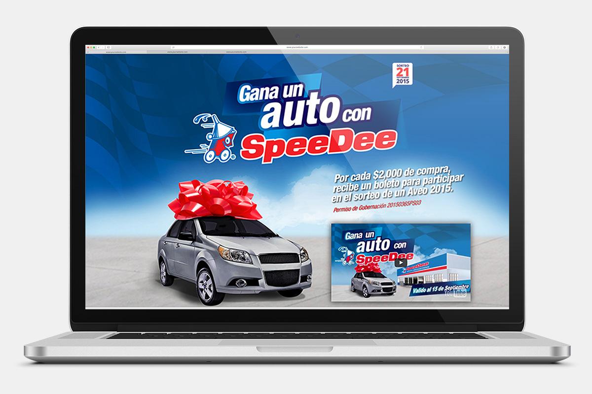 SpeeDee – Gana un auto
